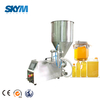 Stainless steel Edible oil plastic bottles semi-auto filling machine