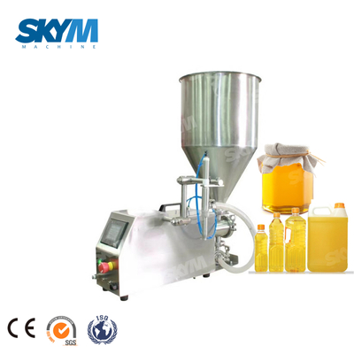 Manual Edible Oil/honey Plastic/glass Containers Semi-auto Filling Machine