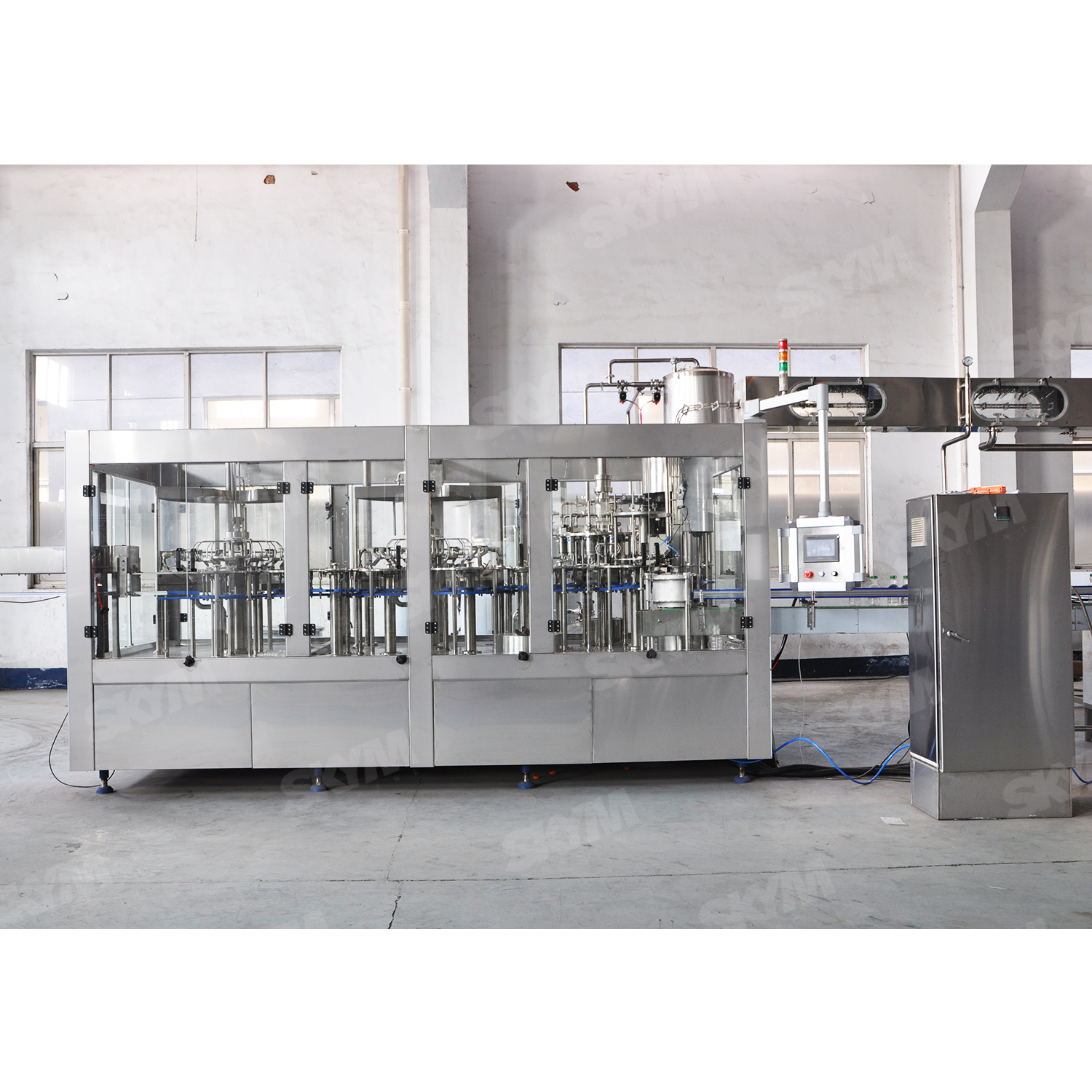 500ml Glass Bottle Aseptic Juice Beverage Filling Machine