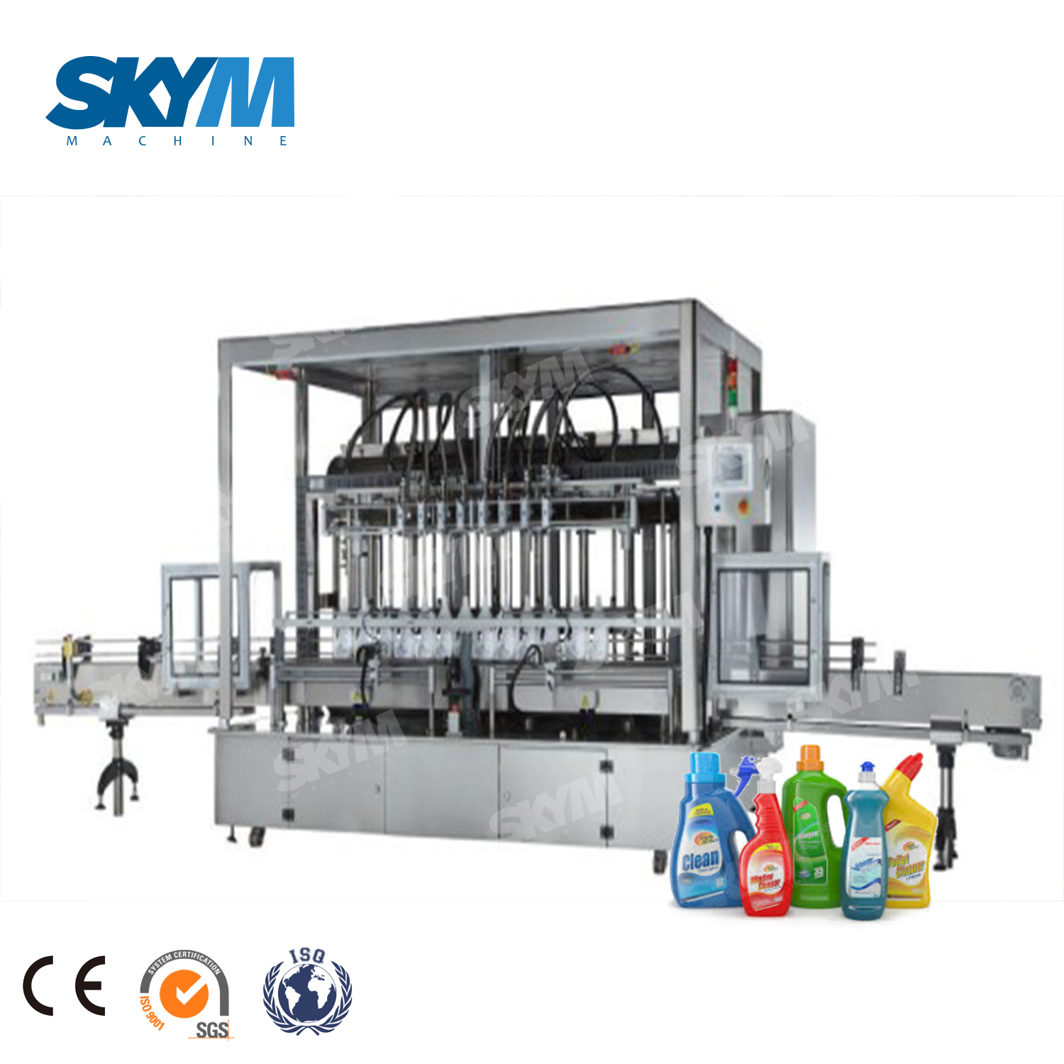 Industrial Liquid Soap Hand Soap Gel Filling Line/machine/ Equipment