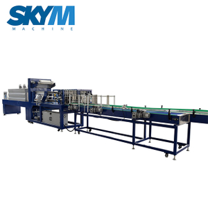 PVC Shrink Film Wrapping Packaging Machine For Water Bottles