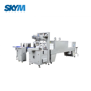 Mineral Water Bottles Group PE Film Shrink Wrapping Packaging Machine