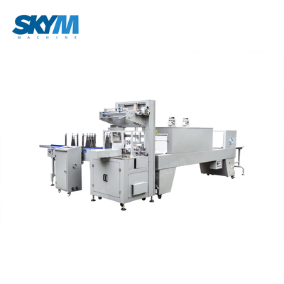 High Speed Juice Bottle Shrink Wrapping Packaging Machine
