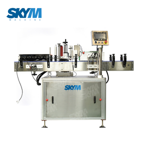 Double Head Self Adhesive Sticker Pasting Machine