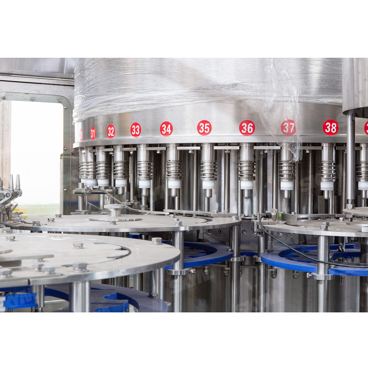 High Speed Industrial Mineral Water Filling Machine