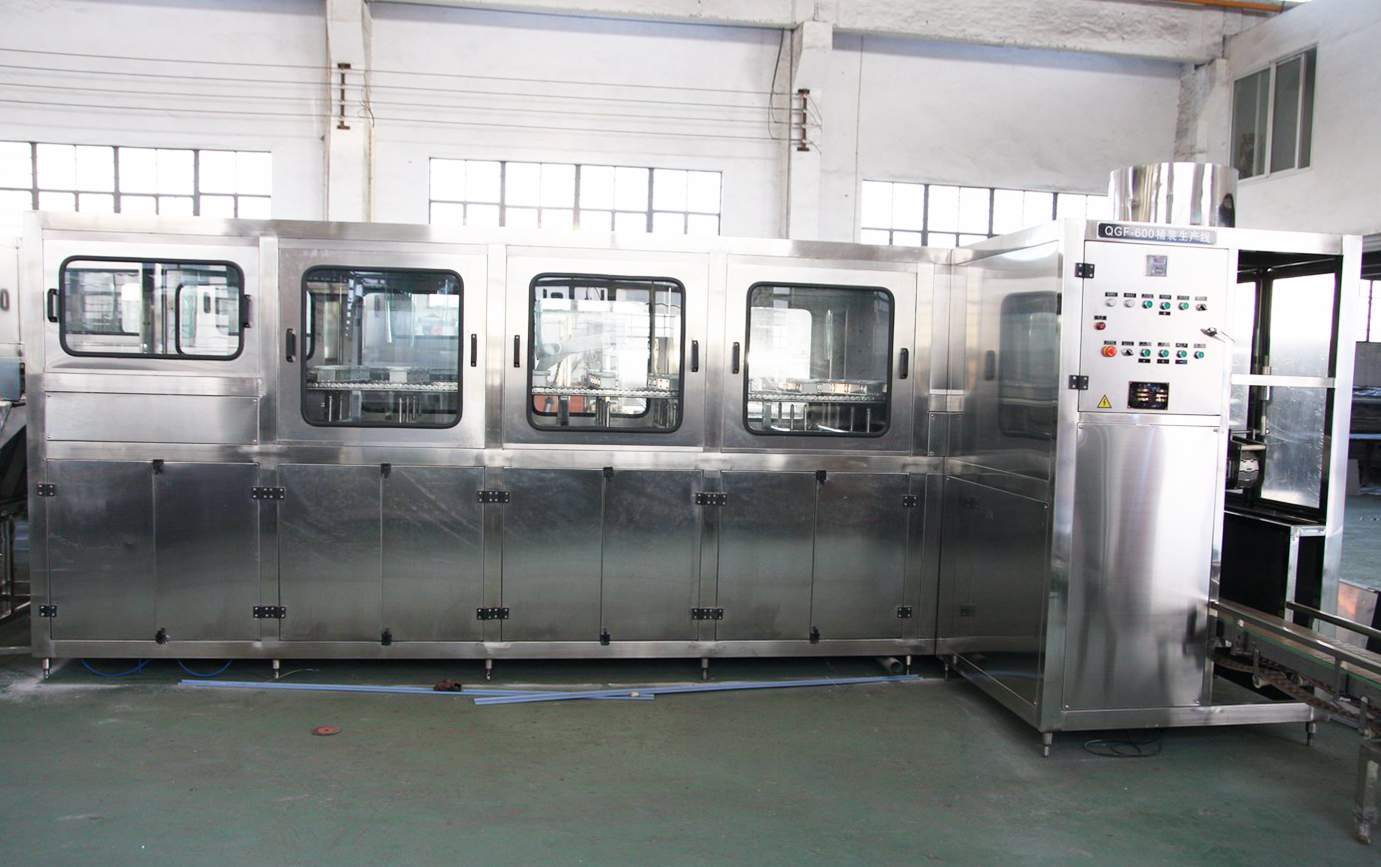 5 Gallon Barrel Water Filling And Packing Production Machine