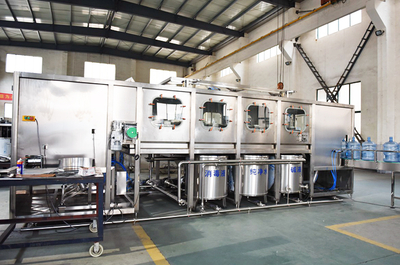 120BPH 3-5 gallon barrel water production line