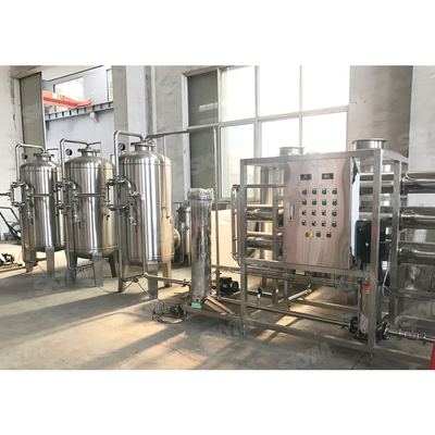 Drinking Water Filter Treatment Plant Production Filling Line