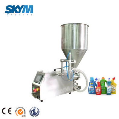 What is the working process of the Oil Filling Machine?