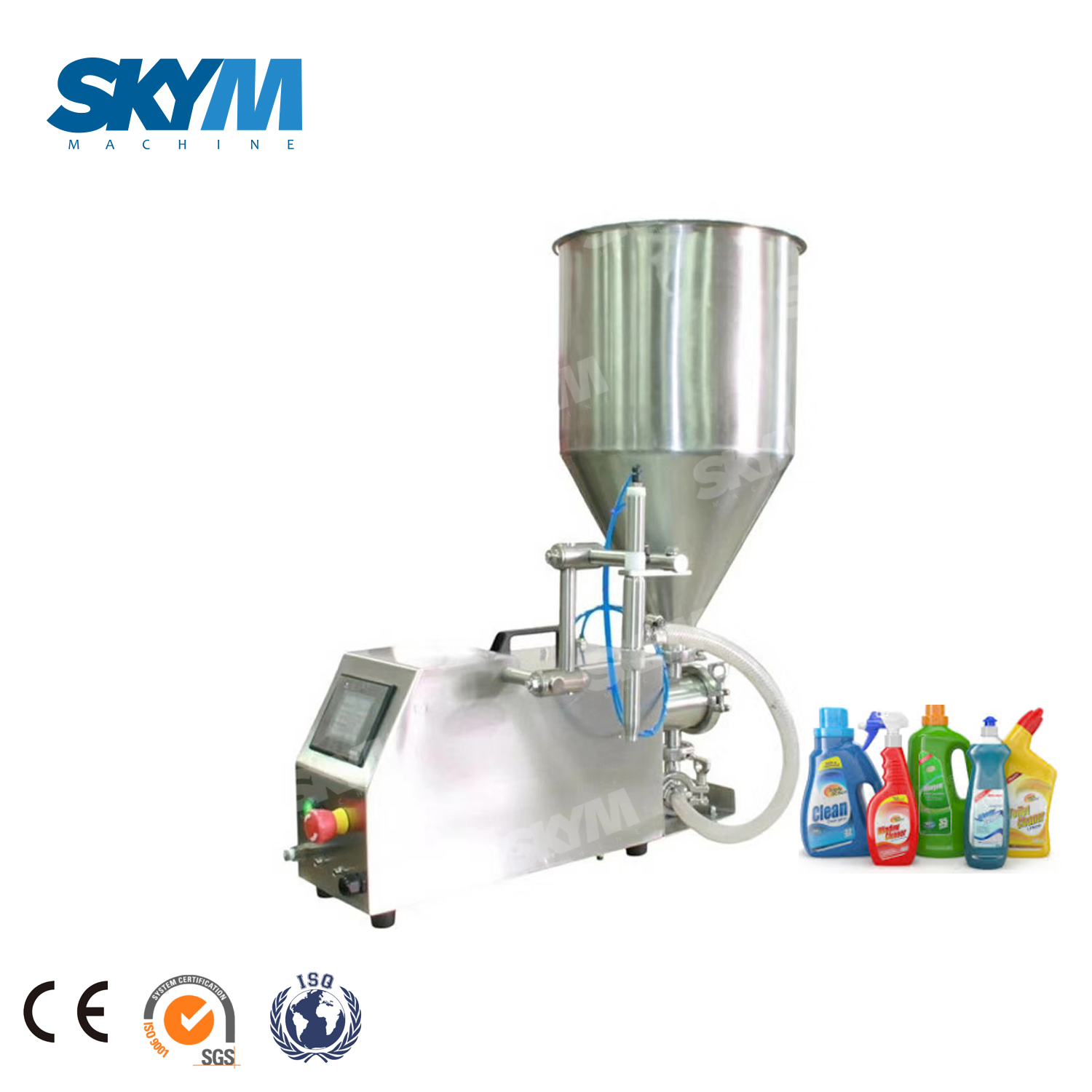 Semi-auto Pump Shampoo Filling Machine/line