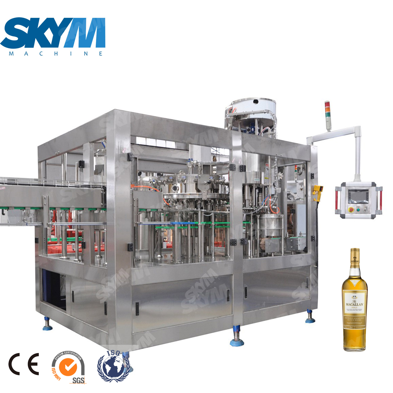 Alcohol Drink / Vodka/whisky/wine Filling Machine