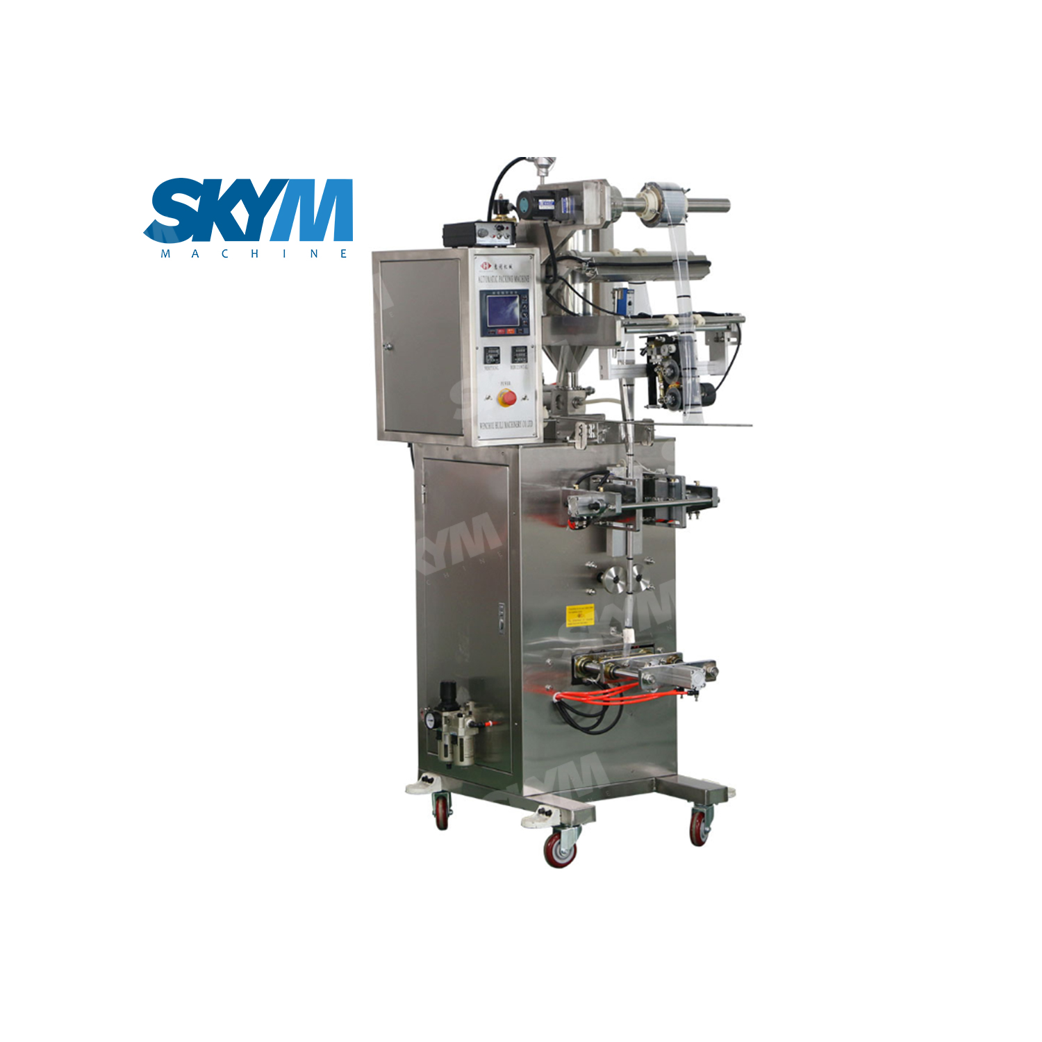 Stainless Steel Pure Water Sachet Filling And Cutting Machine