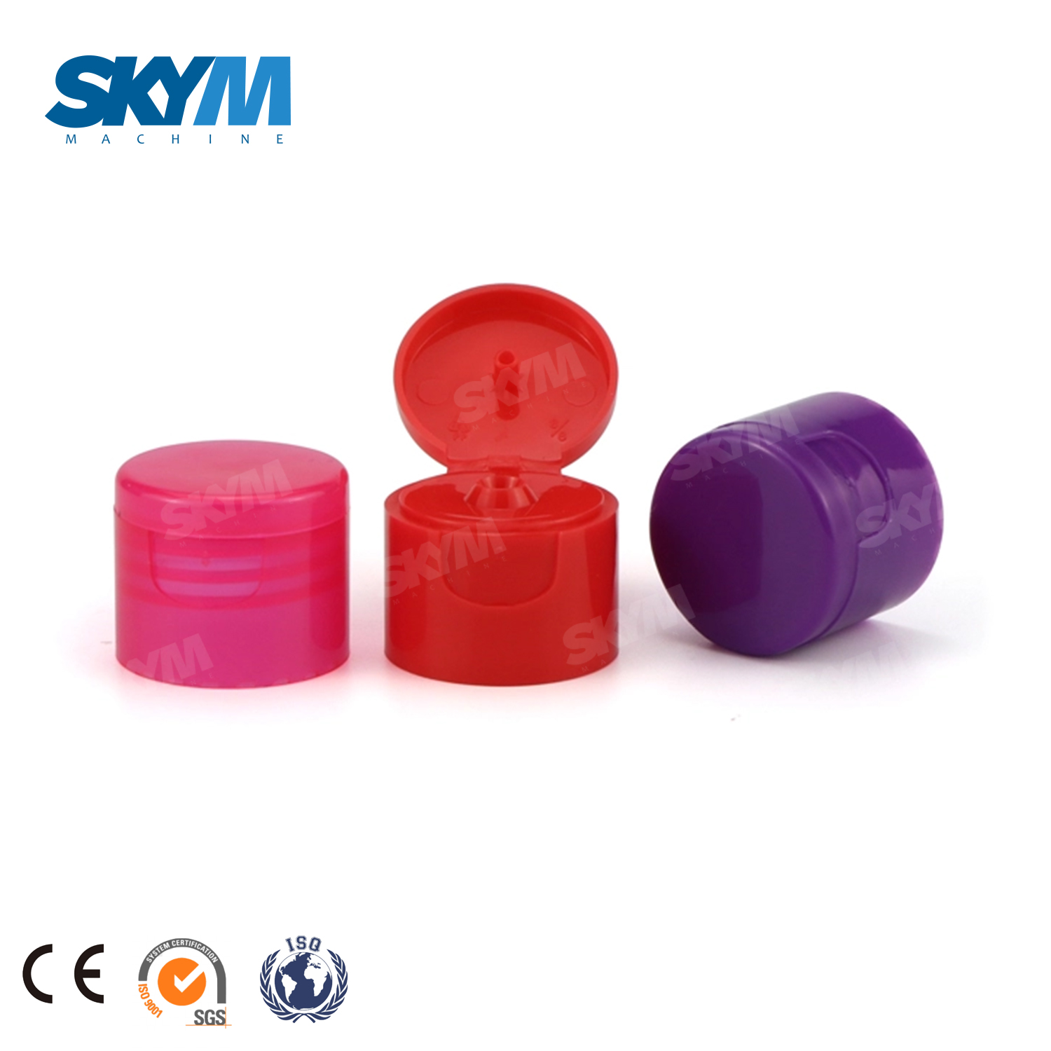 China Manufacturer Plastic PP Bottle Cap Flip Top Cap
