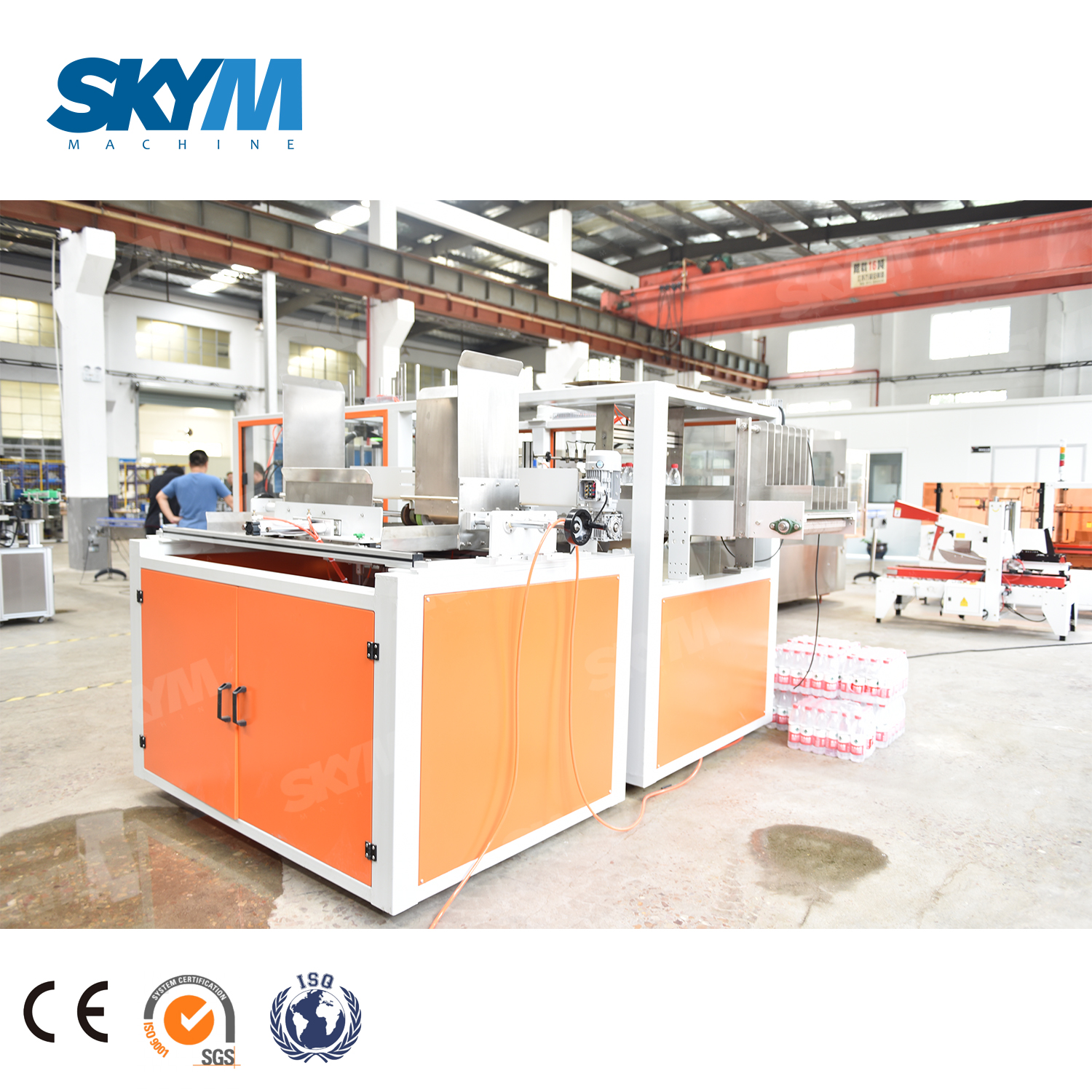 Factory Price Carton Box Packing Machine for Bottled Water