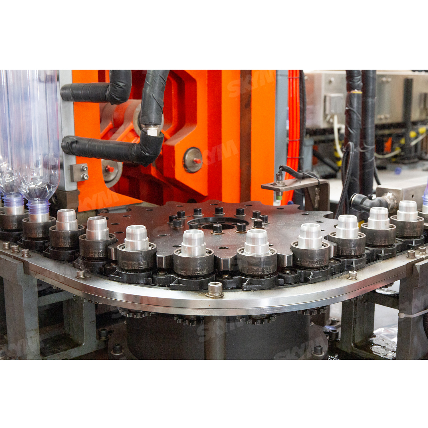 Industrial 2L Big PET Bottles Blow Molding Machine