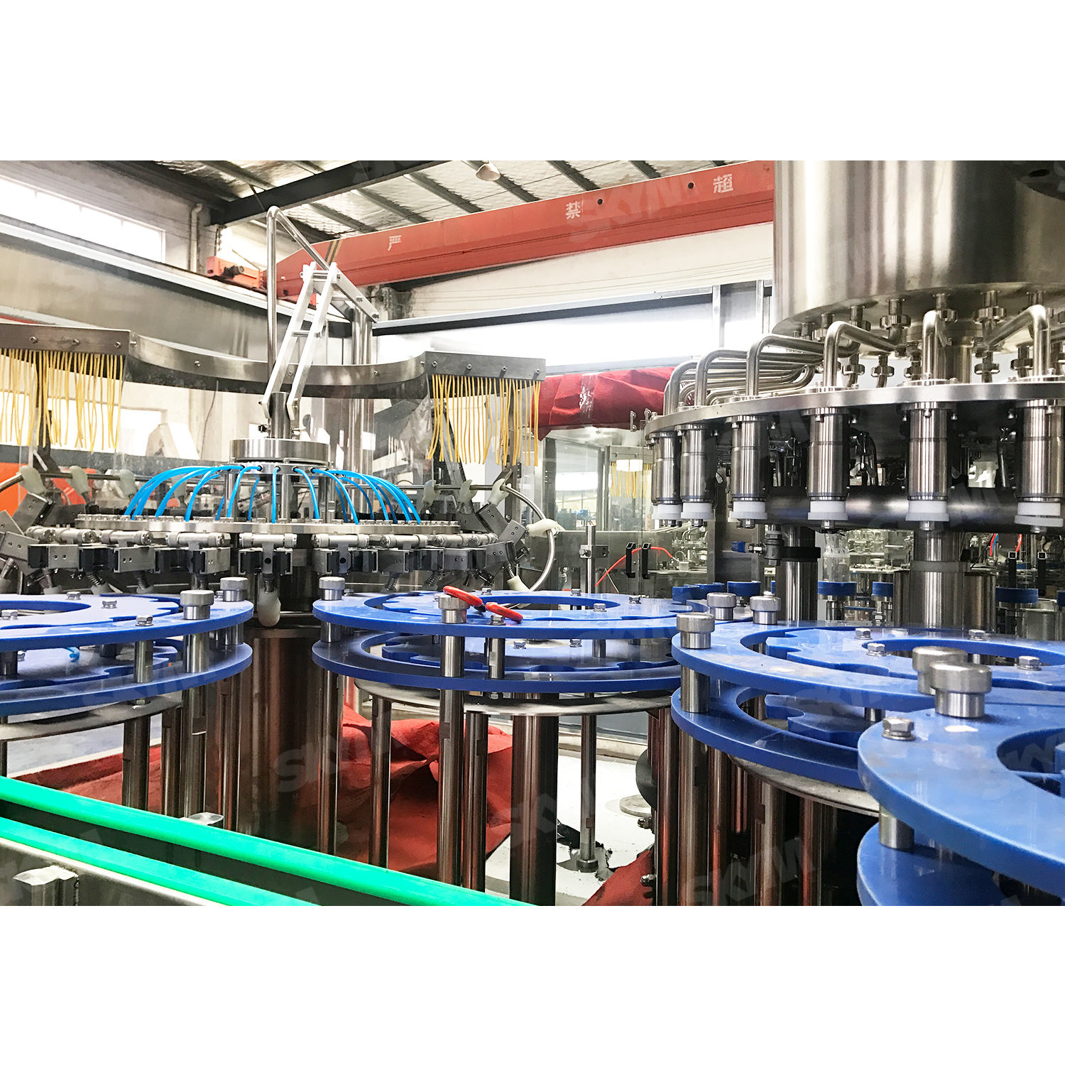 PLC Contorl Fruit Juice Bottle Filling Machine