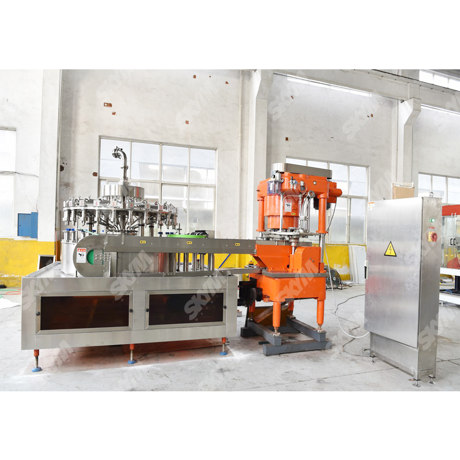18000cans/hr Soft Drink Aluminum Canning Production Line