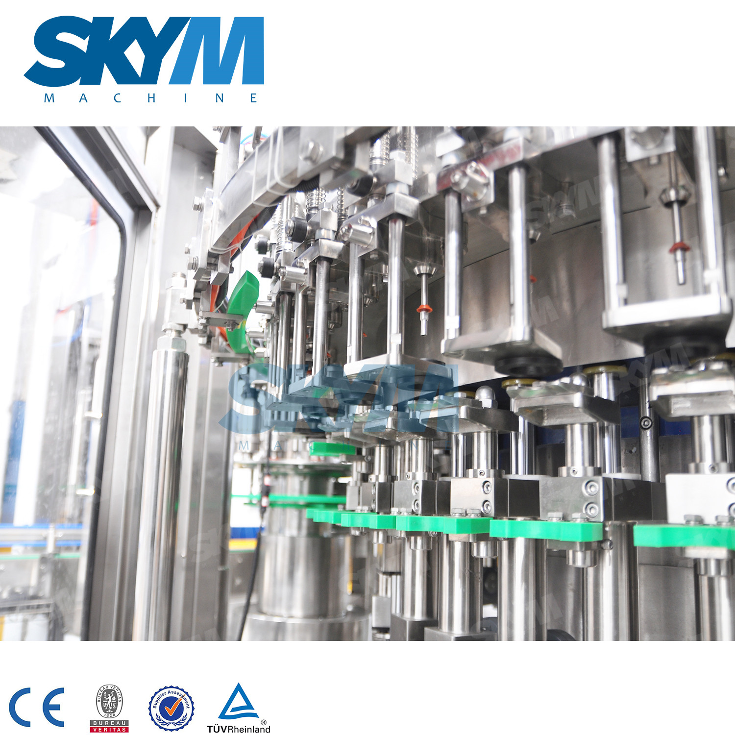 40 Heads Carbonated Drink PET Bottle Filling Machine