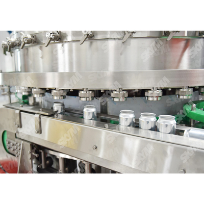 Aluminum Can Soft Drink Canning Production Line